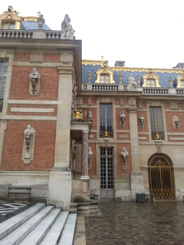 service wing at Versailles