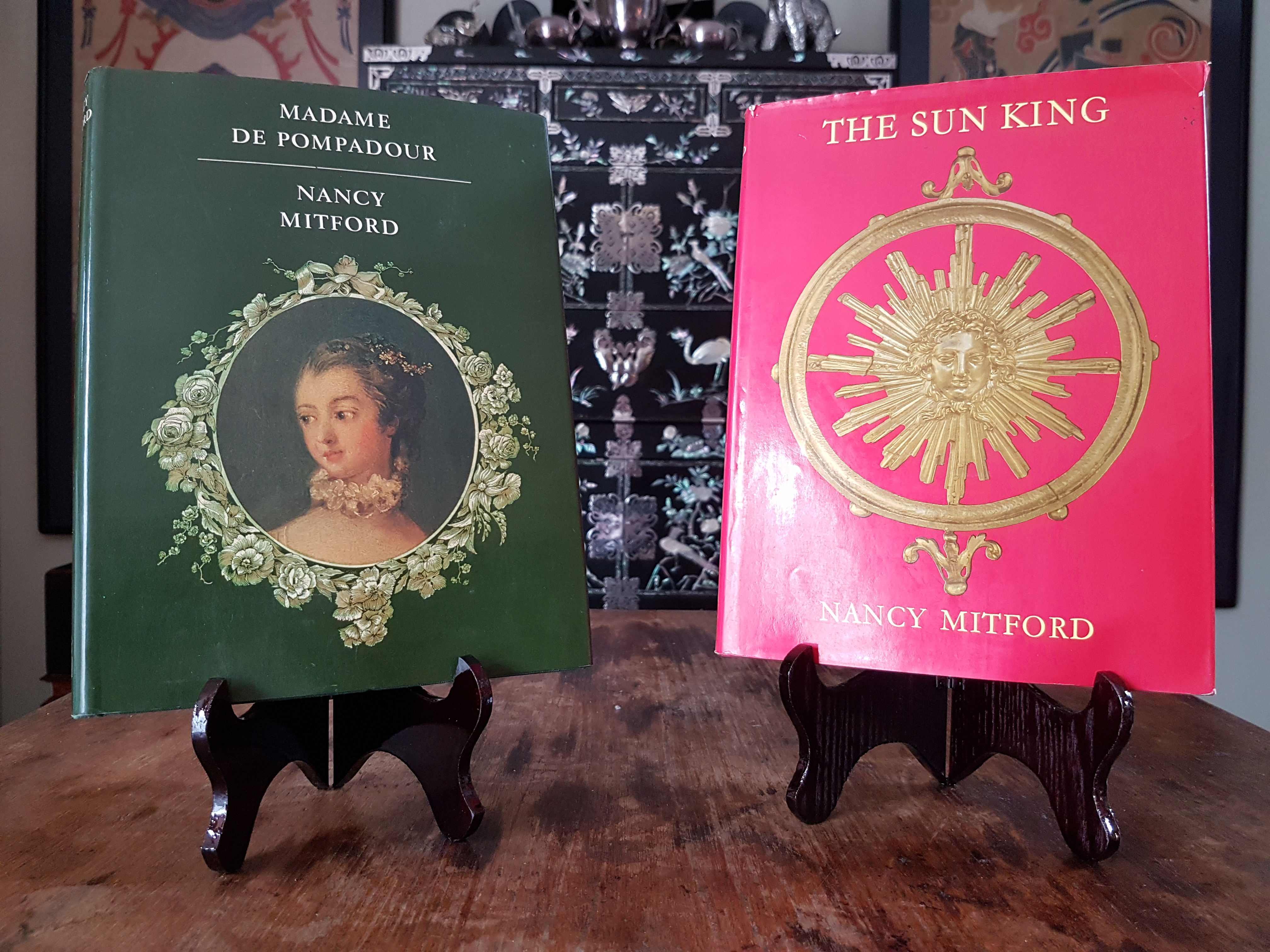Madame de Pompadour and The Sun King by Nancy Mitford.