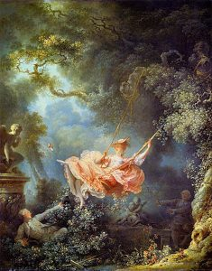 Fragonard's 'The Swing.'  Photo credit: The Wallace Collection via Wikipedia.