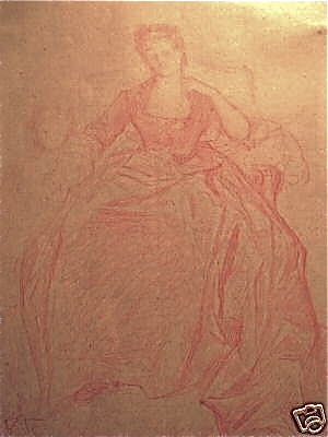 Study for a portrait of the duchess by Alexandre Cabanel. Credit: Wikipedia.