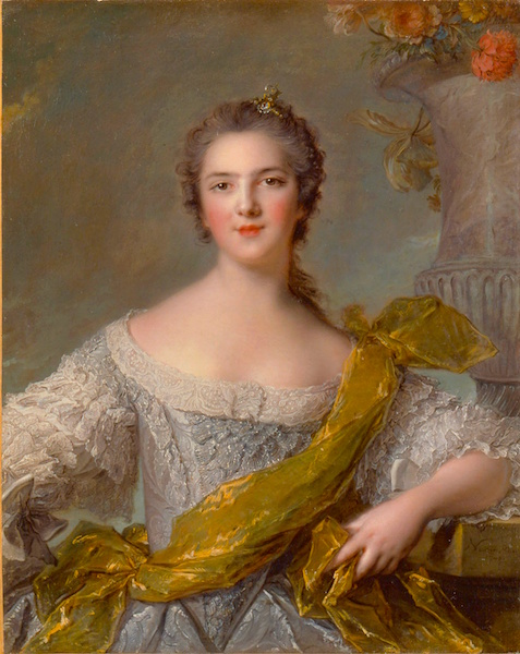 Mme Victoire by Nattier.