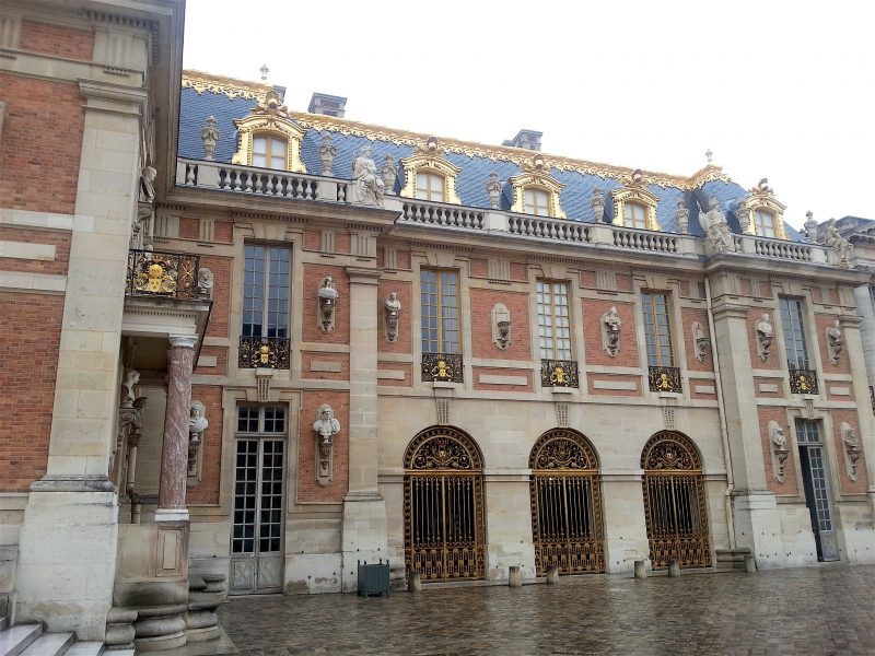 Cour royale gates