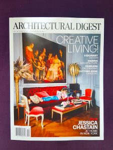 The cover of the October, 2016, issue of Architectural Digest.