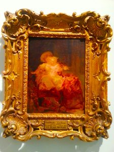 Fragonard's 'The Two Cousins' as seen in the MNAA.