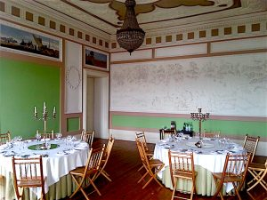 The ground floor salon of the Palacio do Freixo.
