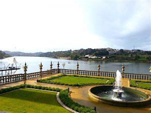 The Douro River seen from the Palacio do Freixo.