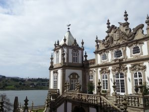 Each facade of the Palacio do Freixo is different. This is the most famous one.
