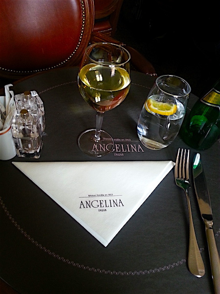 My place setting for one.
