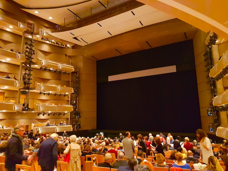 The Four Seasons Centre in Toronto, home of the Canadian Opera Company, and the venue for Ariodante.
