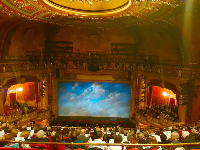 The Elgin Theatre in Toronto, home of Opera Atelier and venue for Dido & Aeneas.