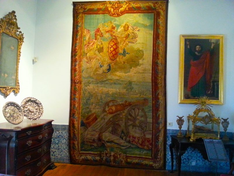 The Dom João V room in the Museum-School of Portuguese Decorative Arts.