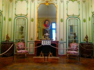 An 18C salon in the Carnavalet Museum.