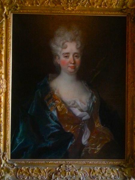 Mme de Lambert (1647-1733) by Nicolas de Largilliere (1656-1746).