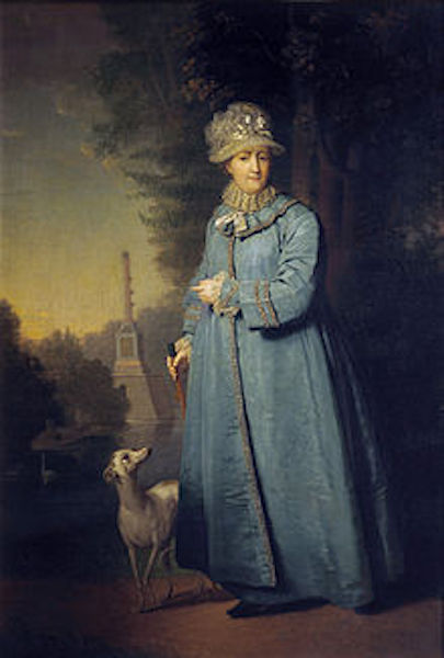 Catherine the Great a few years before her death.