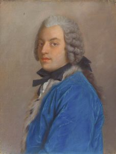 """Count Algarotti, or """"Algaloty,"""" painted in 1745 by Liotard. Credit: Wikipedia."""