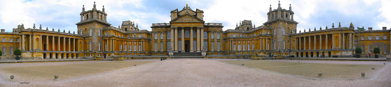 Blenheim Palace, Marlborough's reward from a grateful queen and country. It remains in the possession of his descendants.