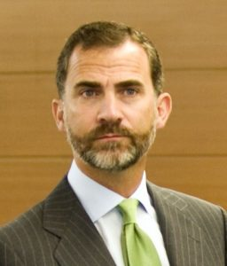 Felipe VI of Spain. Credit: Wikipedia.