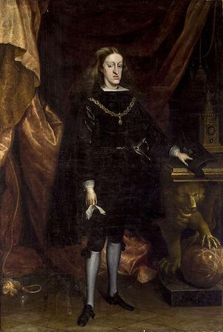 Charles II of Spain (1661-1700).