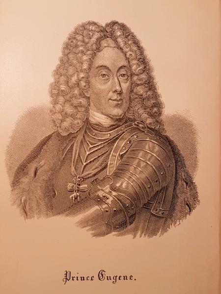 Prince Eugene of Savoy (1663-1736).
