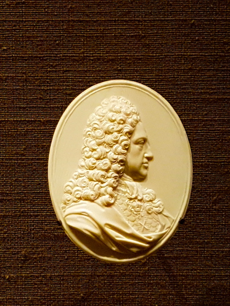 James Francis Edward Stuart, 'James III', in later life. This miniature portrait in ivory by Le Marchand is in the Art Gallery of Ontario in Toronto.