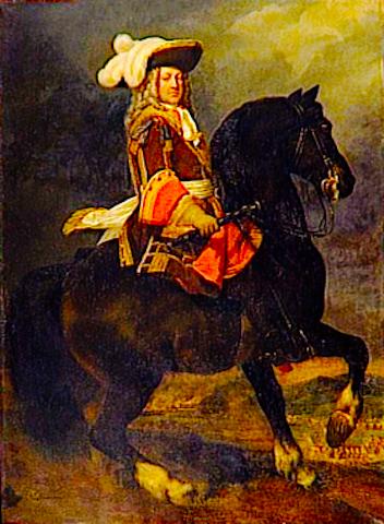 The Duc de Vendôme in 1706 by Murat. Credit: Wikipedia.