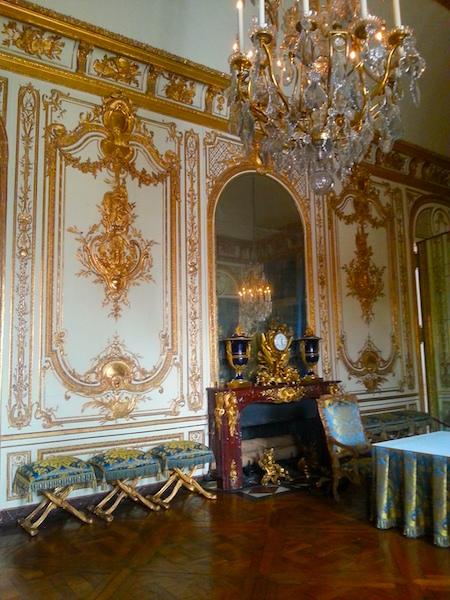 The King's Council Chamber at Versailles.