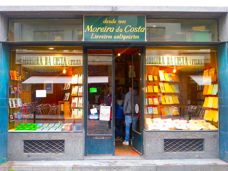 Livraria Moreira da Costa, an antiquarian bookshop in Porto.