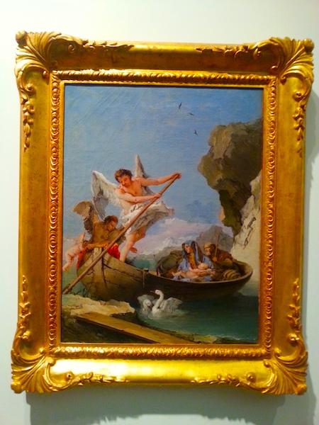 Tiepolo's The Flight Into Egypt, 1765-1770.