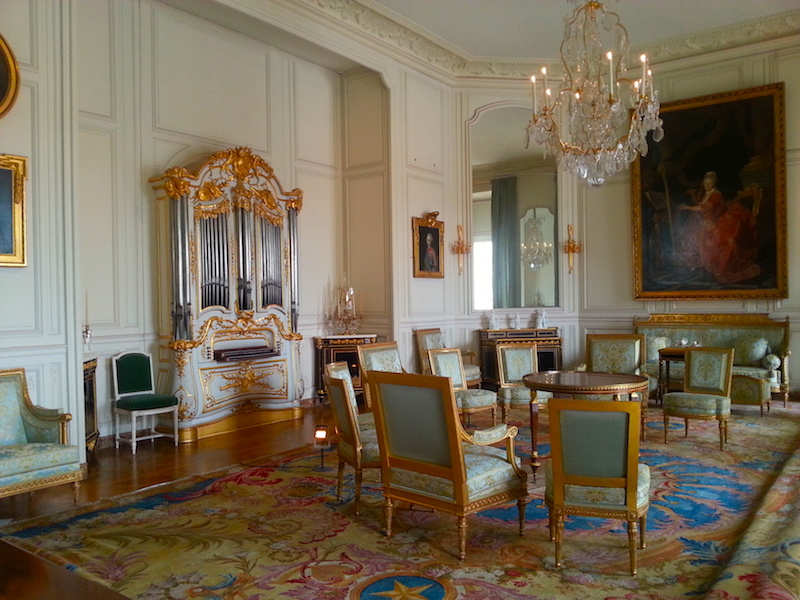Mme Adélaïde's music room.