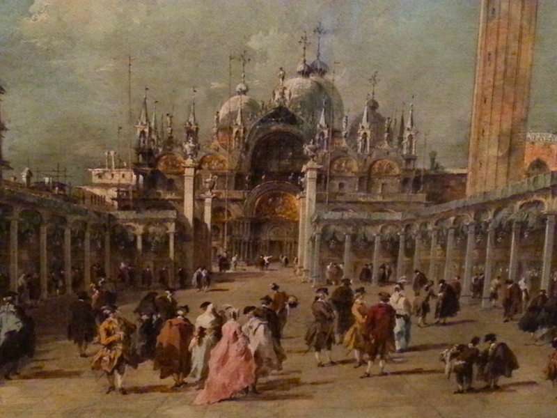Guarda's Feast of the Ascension in St. Mark's Square.