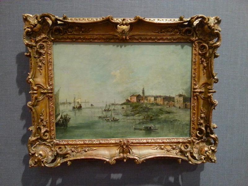 Guardi's 'The Giudecca Canal With St. Martha's Church.'