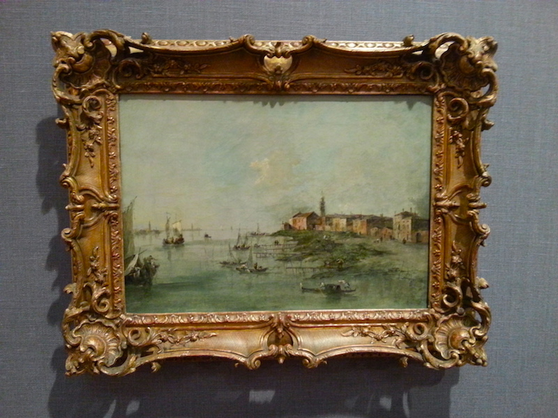 Guardi's 'The Giudecca Canal With St. Martha's Church.'