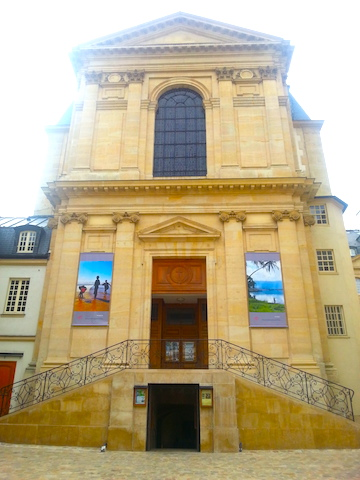 The MEP chapel, formally called la Chapelle de l'Épiphanie.