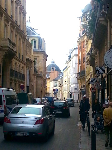 Rue du Bac in Paris.