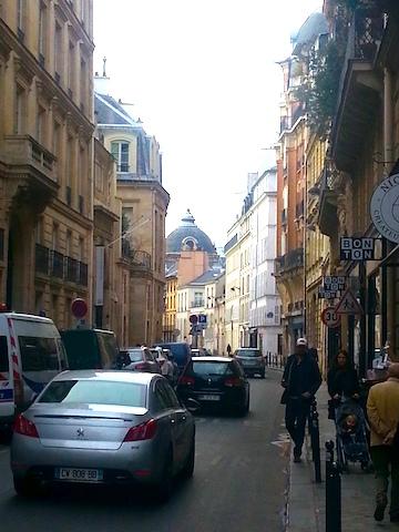Rue du Bac in Paris.