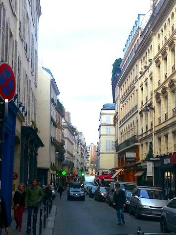 Rue du Bac, Paris.