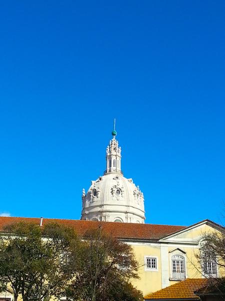 The dome of the Basilica da Estrela.