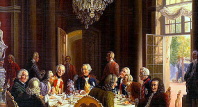 At the Table of Frederick the Great