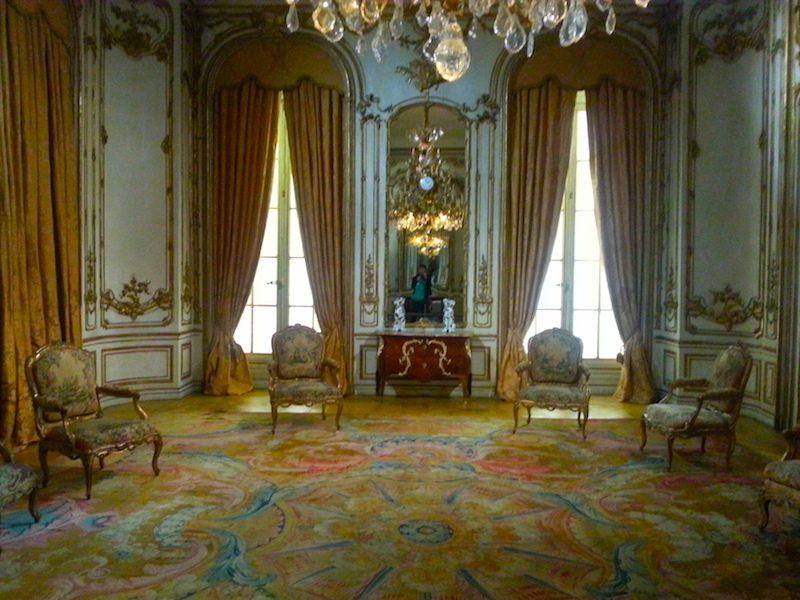 A salon in the Museu Nacional de Arte Antiga (MNAA), Lisbon.
