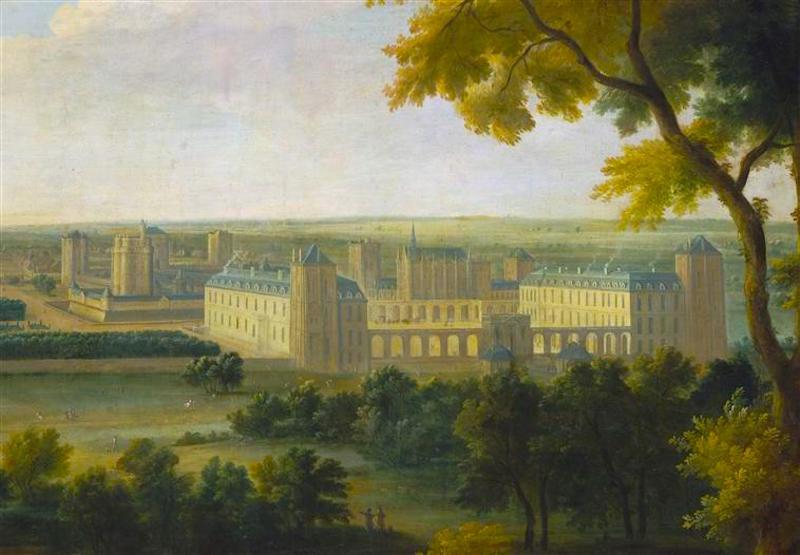 The Château de Vincennes, 1730s.  Credit: Wikipedia.