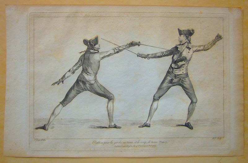 By Charlesjsharp (talk) (Uploads) - Fencing Print, Public Domain, https://commons.wikimedia.org/w/index.php?curid=40685224