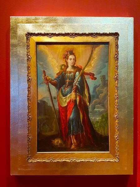 St. Catherine of Alexandria by Cristóbal de Villalpando.