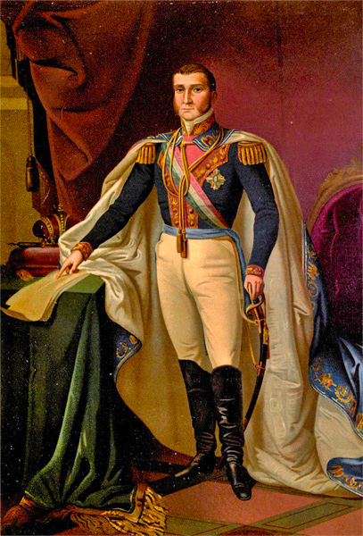 Agustin I, Emperor of Mexico (1783-1824). Credit: Wikipedia.