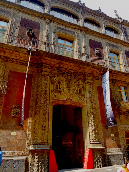 The balcony on which Agustin de Iturbide was proclaimed Emperor of Mexico.