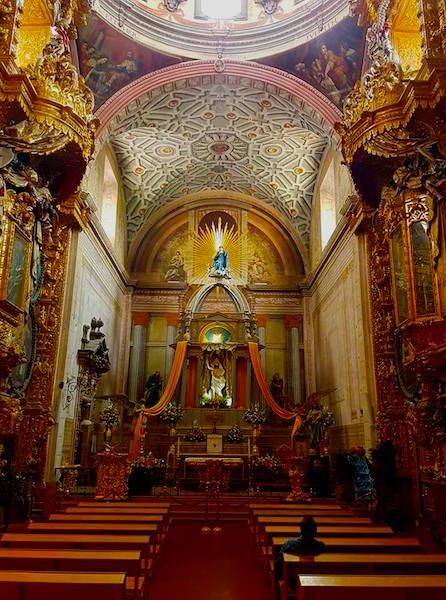 Santa Rosa de Viterbo, Querétaro, completed in 1752.
