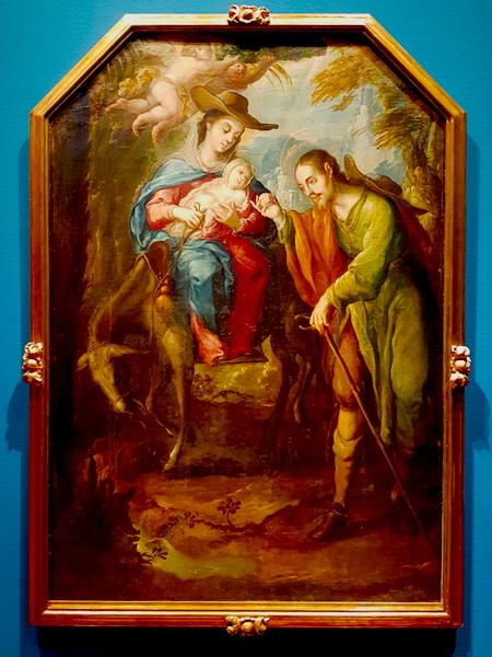 The Flight of the Holy Family into Egypt.  Villapando, 1700-1714.