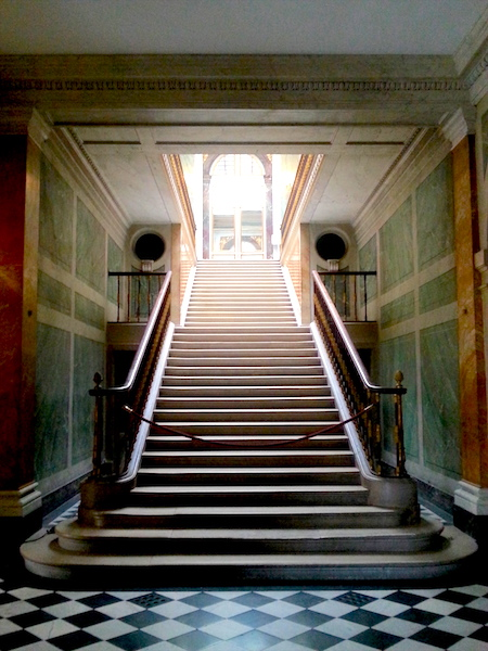 The Louis-Philippe Staircase in March, 2017.