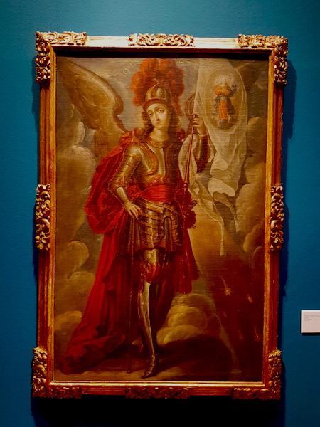 Saint Michael the Archangel.  Villapando, 1680s.