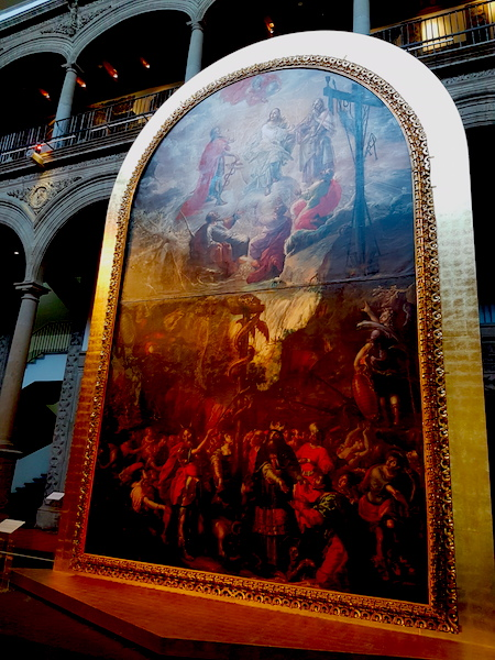 Moses, the Bronze Serpent, and the Transfiguration of Jesus. Cristobal de Villalpando, 1683.